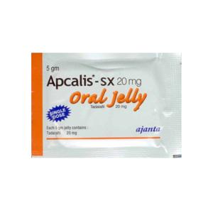 Acheter Tadalafil: Apcalis SX Oral Jelly Prix