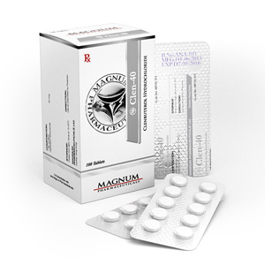 Acheter Chlorhydrate de clenbutérol (Clen): Magnum Clen-40 Prix