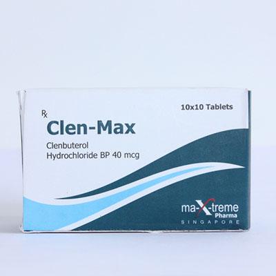 Acheter Chlorhydrate de clenbutérol (Clen): Clen-Max Prix