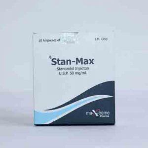 Acheter Injection de stanozolol (dépôt Winstrol): Stan-Max Prix