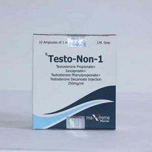 Acheter Sustanon 250 (mélange de testostérone): Testo-Non-1 Prix