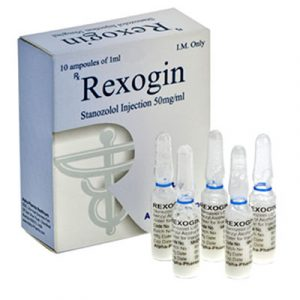 Acheter Injection de stanozolol (dépôt Winstrol): Rexogin Prix