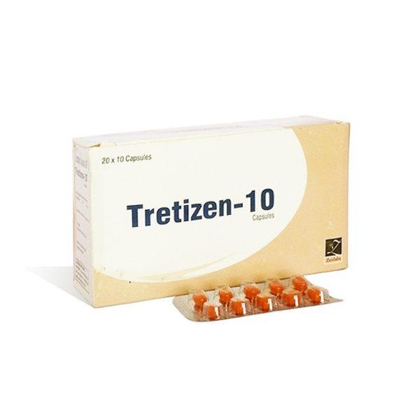 Acheter Isotrétinoïne (Accutane): Tretizen 10 Prix