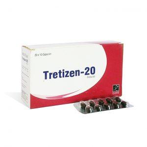 Acheter Isotrétinoïne (Accutane): Tretizen 20 Prix