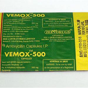 Acheter Amoxicilline: Vemox 500 Prix