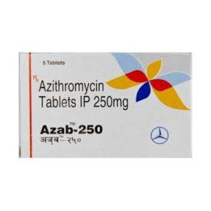 Acheter Azithromycine: Azab 250 Prix